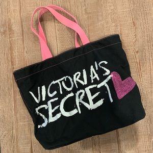 Victoria's Secret canvas tote